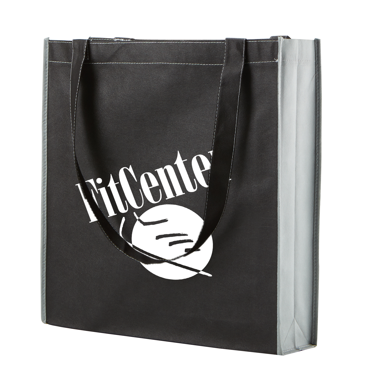 Two-Tone Non-Woven Convention Tote
